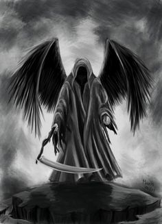 Grim reaper by Maris-cz on @DeviantArt