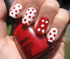 This Pin was discovered by Nails Art Designs. Discover (and save!) your own Pins on Pinterest. | See more about red nail art, nail art designs and red nails.
