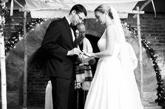Ring exchange found on Modern Jewish Wedding Blog // Photo by Juicebeats Photography   http://juicebeatsphotography.com