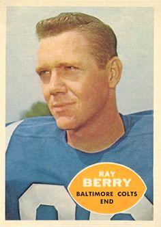Raymond Berry - 1960 Topps #4