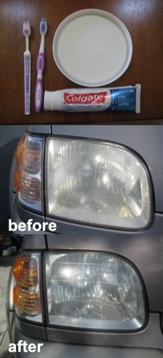 Hello pretty girls :) guess who found a cool tip on how to clean foggy headlights? This will be part of my Smart Tip series of t.