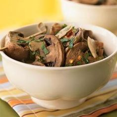 Citrus-Marinated Mushrooms Recipe | MyRecipes.com