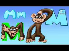 ABECEDARIO CON ANIMALETRAS -Aprende abecedario en español con los animales - YouTube