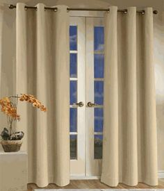 Save money on your energy bills by minimizing drafts through windows with our energy efficient insulated Grommet Top Curtain Panel Pairs. Blocks not only drafts but sounds, for a more peaceful nights rest. Thermalogic Curtains are the best for Energy Savings!
