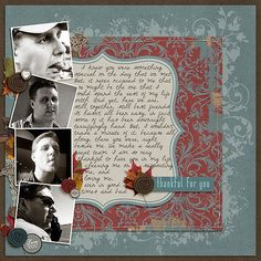 Thankful Fall Kit & Flourished Stamps from Peppermint Creative | by @CandyRisher #halloween #digiscrap
