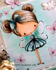 Art Painting, Drawings, Doodle Art, Fabric Painting, Cute Art, Whimsical Art, Art, Fairy Art, Cute Drawings