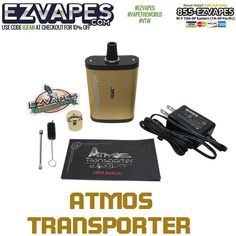 #Atmos #Transporter Portable Herb #Vaporizer