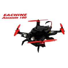 Eachine Assassin 180 FPV Quadcopter Built In OSD GPS NAZE32 With HD Camera ARF Version
