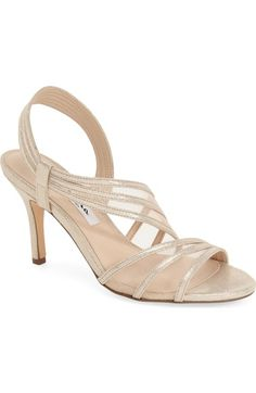 eeb7115d8144 Nina  Vitalia  Sandal (Women) available at  Nordstrom Evening Sandals