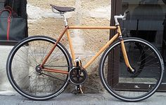 Jacques Ferrand Leather Bicycle