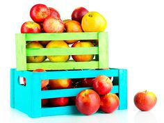da fruta, caixa da, ideia para