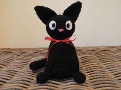 Jiji plush amigurumi inspired by the black by LottiesCreations