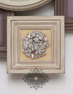 Brooch. Bitter Sweet Jewellery. #bridal #wedding #jewellery #Toronto #floral