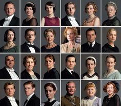DOWNTON ABBEY CHARACTERS!!!