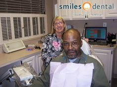 Patient, William, with hygienist Sue!