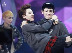 exo D.O  and chanyeol