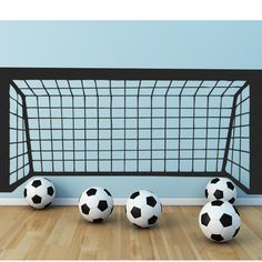 Football Goal Wall Stickers