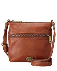 Explorer Mini Cross-Body Bag - Russet Brown