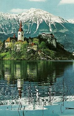 Lake Bled, Slovenia Places To Travel, Places To See, Places Around The World, Around The Worlds, Beautiful World, Beautiful Places, Bled Slovenia, Lake Bled, National Geographic