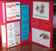 Assembly Ideas for the Lego Lapbook