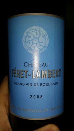 Chateau Feret-Lambert #vin #bordeaux #wine