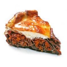Fitness jablečno-tvarohový palačinkový dort - zdravý recept Bajola Lasagna, Tiramisu, Fitness, Cheesecake, Ethnic Recipes, Food, Diet, Cheesecakes, Essen