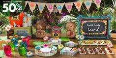 Tiki Party Theme