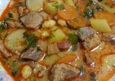 Paraszt gulyás | Babai János receptje - Cookpad receptek Hungarian Recipes, Hungarian Food, Pot Roast, Pork, Food And Drink, Cooking Recipes, Beef, Chicken, Ethnic Recipes