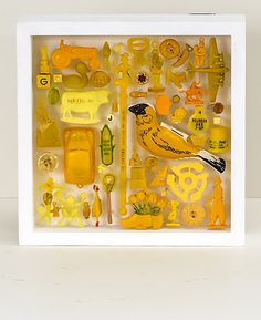 Robin Ayres – Box of Color/Yellow