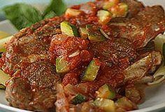 Tomato-Braised Lamb Shoulder Chops | #aussielamb www.australian-lamb.com