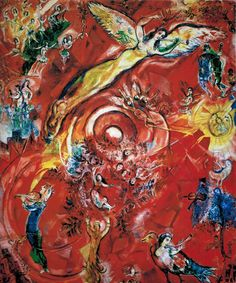 "Marc Chagall ""The Triumph of Music"", 1967, Met Opera House."