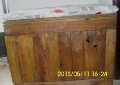 DIY pallet trunk   1001 Pallets