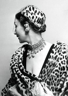 Mitzah Bricard, hat designer and muse to Christian Dior.