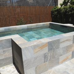 Backyard Pool Designs, Small Backyard Pools, Pool Landscaping, Small Above Ground Pool, Pools For Small Yards, Pool Colors, Small Pool Design, Small Swimming Pools, Mini Pool