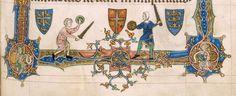The Gorleston Psalter Date 1310-1324 Add MS 49622 Folio 69r