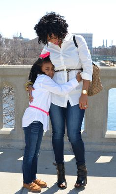 Mother and Daughter Photo Ideas by Sweenee Style
