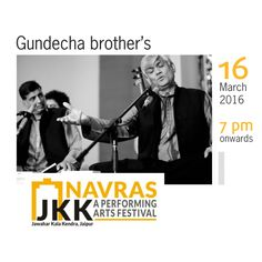 Umakant and Ramakant Gundecha, bestowed with the Padmashree, are leading Dagarvani Dhrupad singers. Dhrupad is an ancient and stately genre of music that developed in the princely courts of North India.   Watch the Gundecha Brothers bring Indian classical music alive on 16th March @ Navras from 7pm onward.