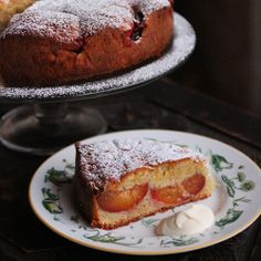 Pip's Plum Cake, Perfect with just a sprinkle of icing sugar and a dollop of cream