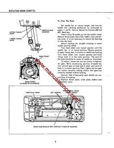 Singer    327K  328K Sewing Machine Service Manual   Sewing
