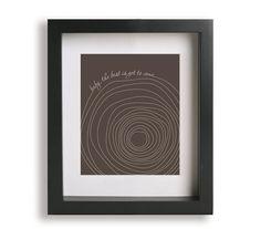 Someone Like You / Van Morrison - Music Lyric Art Print - wedding gift idea, wedding sign, wall art, wall decor, tree, tree trunk