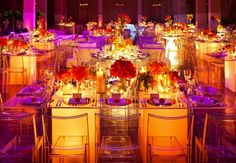 Love the dim lights & bright colors! #shaadibazaar, #indianwedding