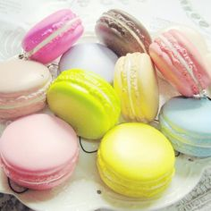 Cheap key strap, Buy Quality squishy cute directly from China macaron squishy Suppliers: New Arrival 1PC Kawaii Soft Dessert Macaron Squishy Cute Cell phone Charms Key Straps