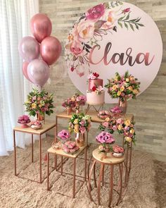 Festa de 15 anos simples: 100 encantadoras e Simple Birthday Party: 100 Charming and Affordable Decorations The birthday is more than special. Check out inspirations and tips for organizing a simple and unforgettable birthday party! Balloon Decorations, Birthday Party Decorations, Baby Shower Decorations, Birthday Parties, Wedding Decorations, 15th Birthday Party Ideas, Birthday Boys, Birthday Table, Balloon Garland