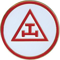 """Royal Arch Masons. """"This emblem, placed in the center of a Triangle and Circle – both emblems of Deity – constitutes the jewel of the Royal Arch as practiced in England, where it is so highly esteemed as to be called the """"emblem of all emblems,"""" and """"the grand emblem of Royal Arch Masonry."""""""