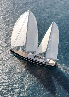 Philippe Briard created the 220ft sailing yacht that crowned French decorator Christian Liaigre turned into a floating Manhattan penthouse. If every man is an island, every home is a yacht?