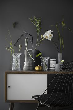 La maison d'Anna G.: 6 ideas for grey walls Interior Styling, Interior Decorating, Interior Design, Deco Nature, Monday Inspiration, Home And Deco, Grey Walls, Decoration, Home And Living