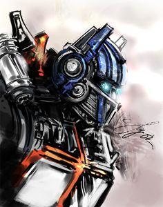 Optimus Colored by kamillyonsiya on DeviantArt Spray Paint Art, Transformers Optimus Prime, Comic Book Artists, Tmnt, Cool Art, Cool Stuff, Nerd Stuff, Deviantart, Color