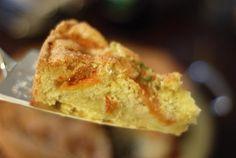 Aprikosenkuchen mit Mandeldecke *