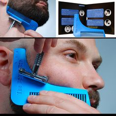 Complete Beard Shaping Tool- The Beard Bro easily shapes a perfect neck line and crisp cheek lines evenly on both sides. This is no gimmick.