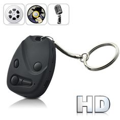 HD 720P USB Rechargeable Digital Video Recorder Spy Camera (Keychain Car Remote Style)